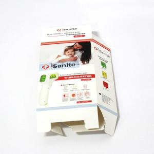China Printed Logo Foldable Cardboard Counter Display Boxes on sale