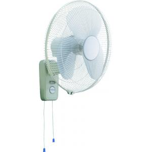 China Pull Chain Wall Mount Oscillating Fan , SAA For Australia High Speed Wall Fan on sale