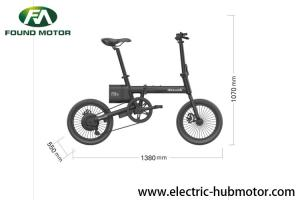 China 12 inch 36V 240W F-3 adult lithium battery foldable electric bike on sale