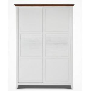 China White Wood Office Storage Cabinet , Wooden Lockable Filing Cabinets 125 * 47 * 230cm on sale