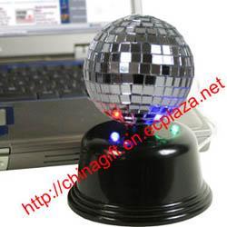 China USB Mirror Disco Ball on sale