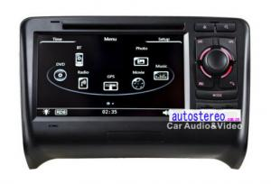 China Car Dash for Audi TT Stereo GPS Navigation Audi Car Stereo With Sat Nav WinCE 6.0 / Phonebook on sale