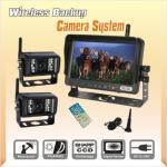 Sistemas sem fio do monitor da câmera para eixos helicoidais da grão do equipamento da colheita