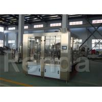 China L'usine de bouteille d'eau avec des remplisseurs de bouteille a automatisé les machines d'emballage de l'eau commandées par PLC on sale