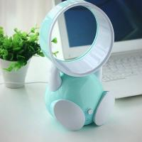 USB Handheld Robot Bladeless Fan Portable Chargeable Mini Bladeless Cooling Fan