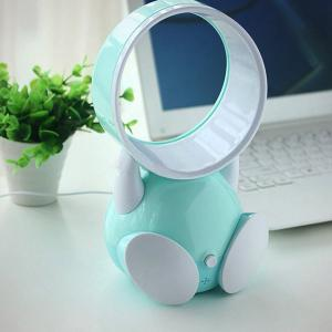 China USB Handheld Robot Bladeless Fan Portable Chargeable Mini Bladeless Cooling Fan on sale