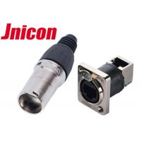 CCTV IP65 RJ45 Waterproof Connector High Durability Corrosion Resistance