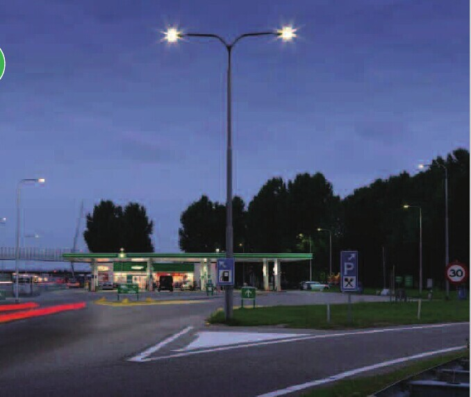 New Product 40W Outdoor Ceiling Led Gas Station Canopy Light