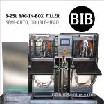 Semi-automatic Bag Water Filler BIB Filling Equipment Bag in Box Filling Machine