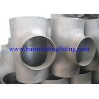 China A403 WP 304 316 Stainless Steel Butt Weld Fittings Equal Tee Pipe Fitting on sale