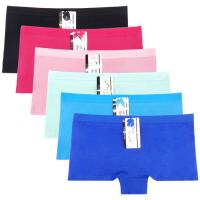 Yun Meng Ni Sexy Underwear Cotton Boyshort Plain Color Women Panties
