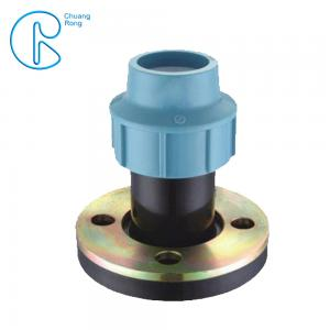 China Tightening Compression Fittings Polypropylene Flange For Irrigation System on sale