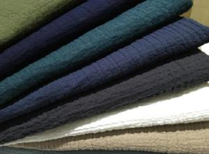 China 55/45 LINEN COTTON INTERWEAVE  PLAIN DYED WITH CREPE   CWT# 5147 on sale