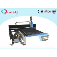 Industrial CNC Fiber Laser Cutting Machine 500W 1KW  2KW For SS Brass Iron Metal Sheet / Tube / Pipe