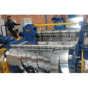 China 25 Ton Hydraulic Cut To Length Line 1600 MM High Speed With 6CrW2Si Slitting Blade on sale