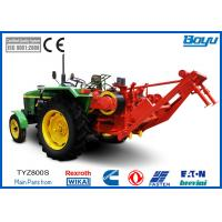 OPGW ADSS Cable Tractor Puller 8t for Overhead Line Equipment with Danfoss Motor, German Wika Meter & Japan Yuken Valve