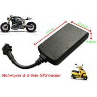 China Motorcycle GPS Tracker Real Time Car Tracking System Remote Cut Off Petrol / Electricity on sale