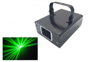 China Low Watt RGBY Single Green 100mw Laser Stage Light With Aluminum House on sale