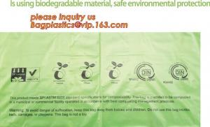 China Compostable Cornstarch Biodegradable Recycling Bags 100% Environment Friendly on sale