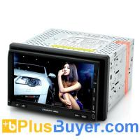 China Nitro - 2 DIN Car DVD Player with DVB-T TV (7 Inch Touch Screen, GPS, Windows CE 6.0) on sale