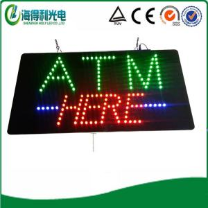 China HSA0082-30 9.5x19 LED atm here sign 2014 new product p6 led bar graph display xxx phot on sale