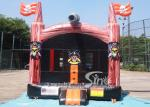 Commercial indoor kids pirate bounce house with pillars inside made in China factory FOR SALE