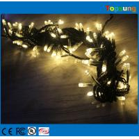 China tree decora 100leds AC christmas led light string on sale