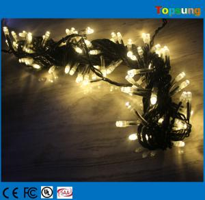 China tree decora 100leds AC christmas led light string on sale