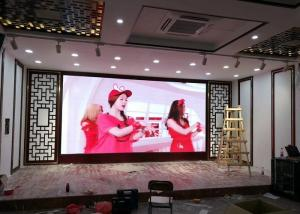 China Indoor Led Video Walls Modular P2.6 High Definition Led Panel 500 X 500mm on sale