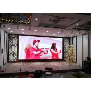 China Indoor Modular Led Video Walls for rent with P2.6 high definition led panel 500 x 500 mm on sale