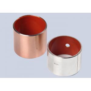 China Orange POM Boundary Lubricating Bearings TOB-20 Steel + Bronze Powder Self lubricating Bearings on sale