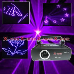 China AM200 Club disco rose color 200mw animation stage laser  light on sale