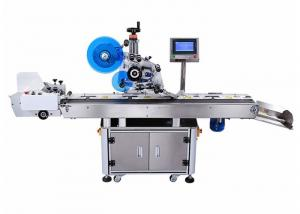 China Plane / Micro Arc Surface Automatic Bag Labeling Machine 820W Power on sale
