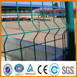 China 3 Folds Decorative Flower Garden Iron Wire Mesh Fencing on sale