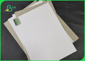 China 250GSM 350GSM 450GSM One Side Coated Duplex Board One Side Gray For Printing on sale