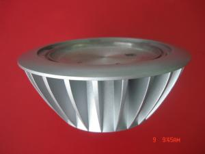 China Pressure Die Casting Moulding For Aluminium Led Lamps / Lighting Parts With Spray Paint on sale