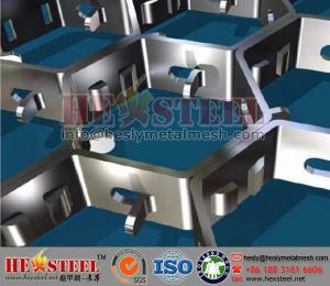 China Flexmetal for Refractory Linings,Flex Metal Grids for Erosive Flue Gas Streams on sale