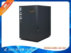 China EN14511 standard ground /water source heat pump with geothermal heating system on sale