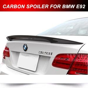 China Fit For BMW E92 3-Series Coupe Performance Boot Trunk Spoiler Rear Wing Carbon Fiber on sale