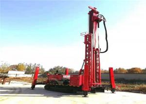 China 30-50M Hydraulic Crawler Small Core Drill Rig Good Efficiency For Explore Coring on sale