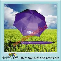 Promotional Purple Walking Stick Umbrella(WTL010)