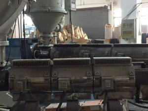 China High Strength Plastic Extrusion Machine Furniture PVC Sheet Extrusion Machine on sale