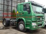 Two Axle Prime Mover Truck , 4 x 4 Off-Road  Driving 336 Horse Power 10 Speeds Transmission