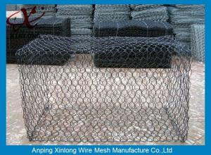 China Easy Install Pvc Coated Gabion Baskets Fence For Protection XLS-15 on sale