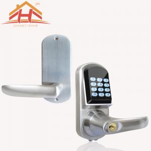 China Fingerprint Bluetooth Smart Door Lock , Wireless Electronic Door Locks For Homes With Deadbolt on sale