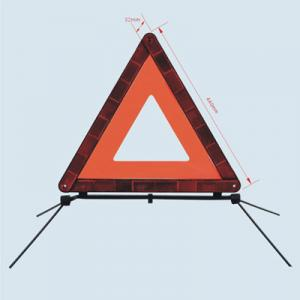 China Collapsible LED Car Emergency Warning Triangle With High Quality on sale