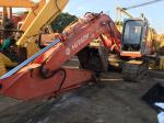 Hitachi EX200 Crawler Used Kobelco Excavator , 12 Ton Second Hand Excavators