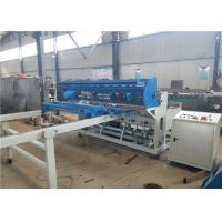 Galvanized Steel Wire Automatic Wire Mesh Welding Machine 4.0KW Stable Performance