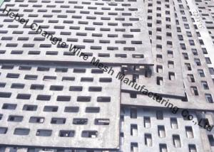 China Low Carbon 100mm Punching Hole Perforated Metal Mesh Screen on sale