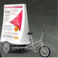 Electric Advertising Trike